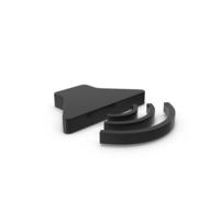 Black Symbol Sound PNG & PSD Images