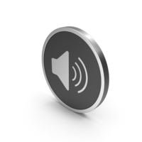 Silver Icon Sound PNG & PSD Images