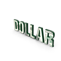 Dollar Word PNG & PSD Images
