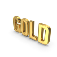 Gold Word PNG & PSD Images