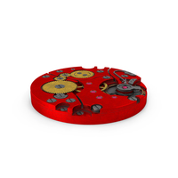 Watch Mechanism Dirty Red PNG & PSD Images