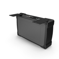 Mini OTDR OpenPort Black PNG & PSD Images
