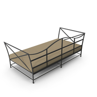 Carmel Daybed Painted Metal PNG & PSD Images