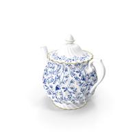 Flora Tea Pot PNG & PSD Images