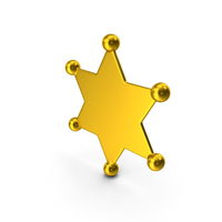 Sheriff Star PNG & PSD Images
