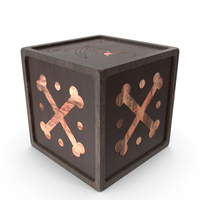 Wooden Pirate Box PNG & PSD Images
