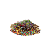 Pile of Mixed candies PNG & PSD Images