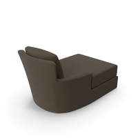 Crate and Barrel - Portico Chaise PNG & PSD Images