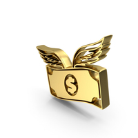 Dollar Flying PNG & PSD Images