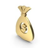 Dollar Money Bag logo symbol icon PNG & PSD Images
