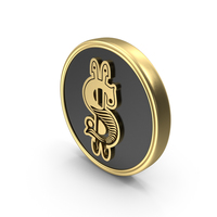 Dollar symbol style Logo Coin PNG & PSD Images