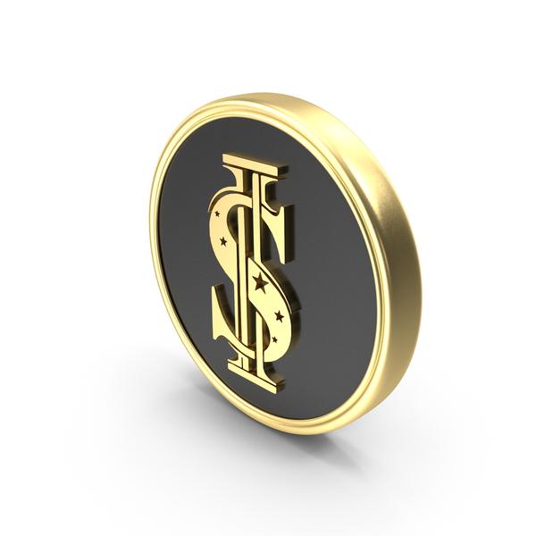Dollar Symbol Coin Logo PNG & PSD Images