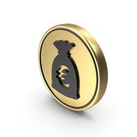 Money Euro Bag Symbol PNG & PSD Images