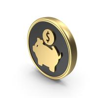 Money Bank Saving Coin Logo PNG & PSD Images