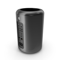 New Mac Pro 2013 PNG & PSD Images