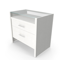 Crate&Barrel - Reese White Compact Office PNG & PSD Images