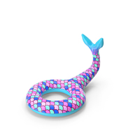 Giant Mermaid Tail Pool Float PNG & PSD Images