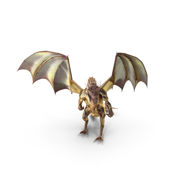 Magical Dragon Standing PNG & PSD Images