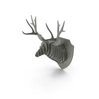 Cardboard Deer Head PNG & PSD Images