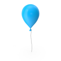 Balloon Blue PNG & PSD Images