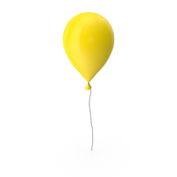 Balloon Yellow PNG & PSD Images