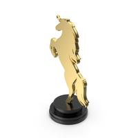 Golden Horse Symbol PNG & PSD Images