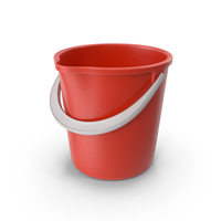 Red Toy Bucket PNG & PSD Images