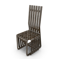 Gehry High Sticking Chair PNG & PSD Images