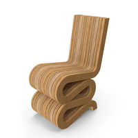 Gehry Wiggle Chair PNG & PSD Images