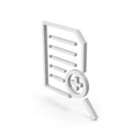 Symbol Document File Zoom PNG & PSD Images