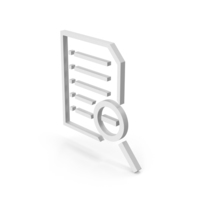 Symbol Document File Zoom Out PNG & PSD Images