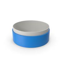 Ring Box No Cap Blue PNG & PSD Images