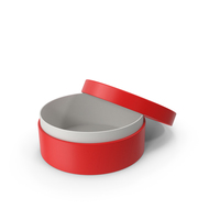 Ring Box Opened Red PNG & PSD Images