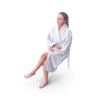 Spa Woman Sitting PNG & PSD Images
