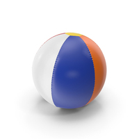Inflatable Beach Ball PNG & PSD Images