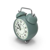 Alarm Clock Olive Green PNG & PSD Images
