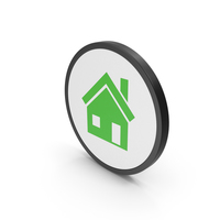Icon House Green PNG & PSD Images