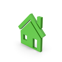 Symbol House Green PNG & PSD Images
