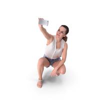 Woman Selfie PNG & PSD Images