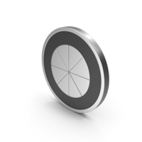 Silver Icon Pie Chart PNG & PSD Images
