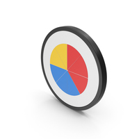 Colored Icon Pie Chart PNG & PSD Images