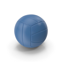 Volleyball Blue PNG & PSD Images