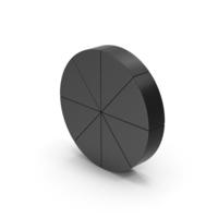 Symbol Pie Chart Black PNG & PSD Images