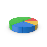 Pie Chart Colored PNG & PSD Images
