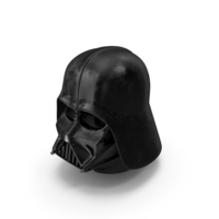 Used Dart Vader Helmet PNG & PSD Images