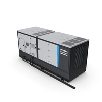 Atlas Copco QIS Industrial Generator PNG & PSD Images
