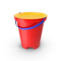Sand Sifter Bucket PNG & PSD Images