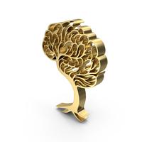 Brain Tree Symbol PNG & PSD Images