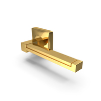 Door Handle Gold Wood PNG & PSD Images
