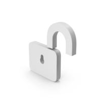 Symbol Unlocked Padlock PNG & PSD Images